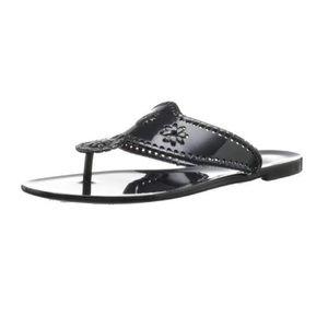 Jack Rogers | Black Bahamas Navajo Sandals